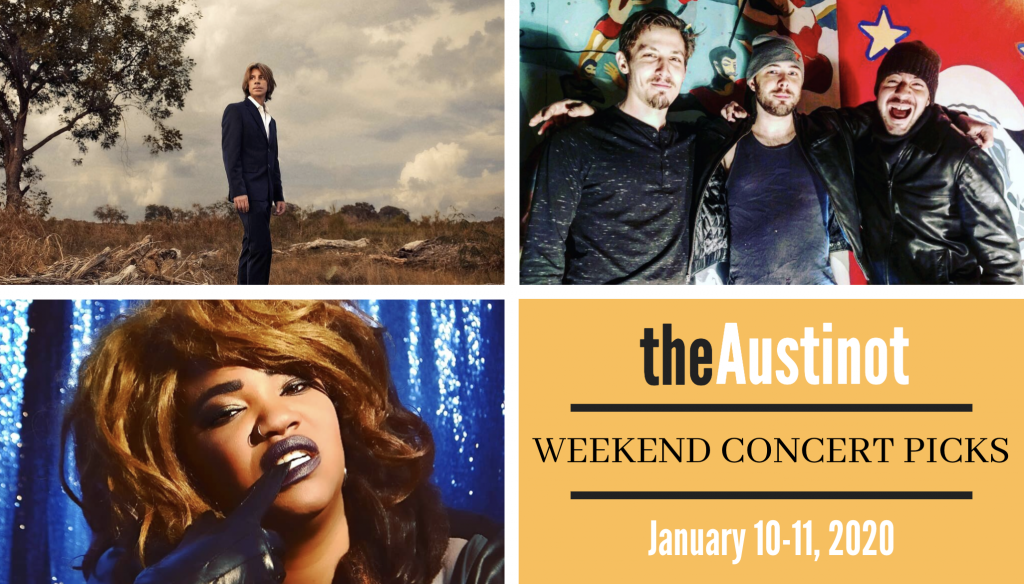 Austinot Weekend Concert Picks January 10 2020
