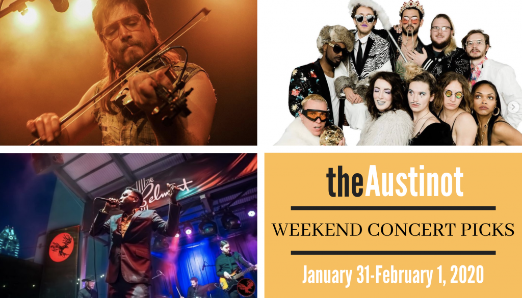Austinot Weekend Concert Picks January 31 2020