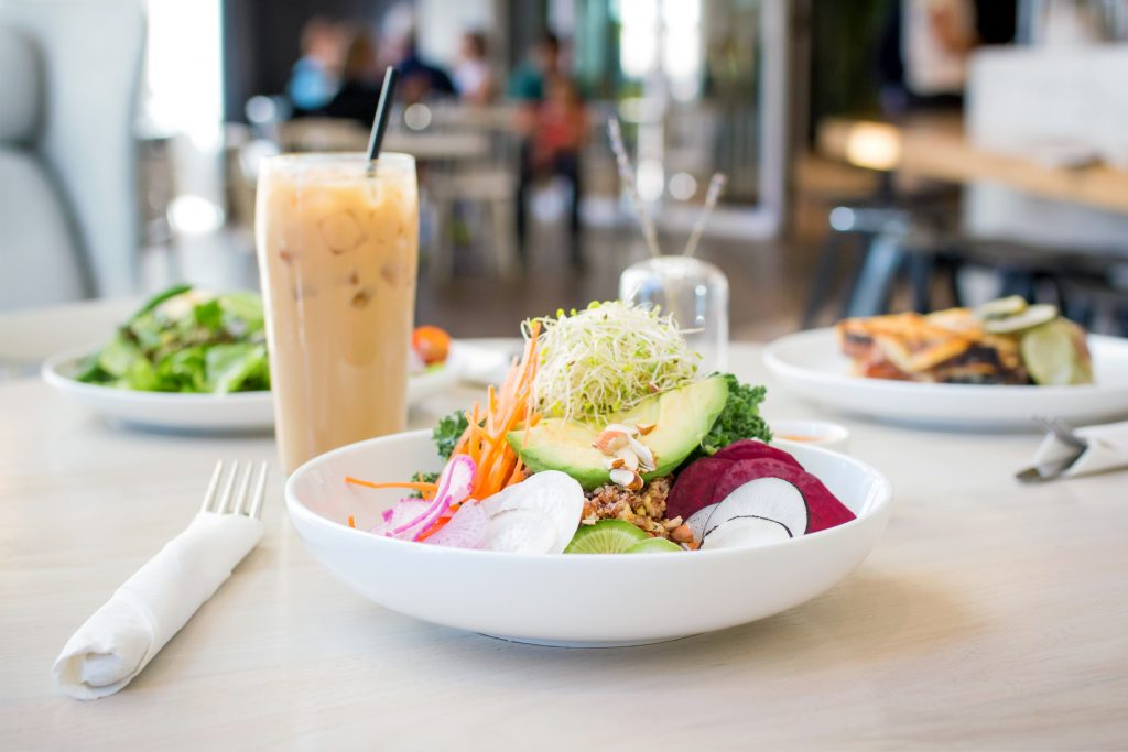 Forthright Cafe vegetarian meals for plant-strong