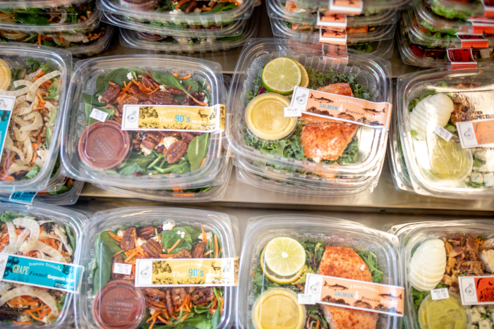 The Soup Peddler plant-strong packaged salads to-go