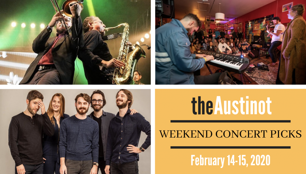 Austinot Weekend Concert Picks February 14-15, 2020