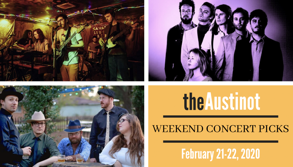 Austinot Weekend Concert Picks February 21