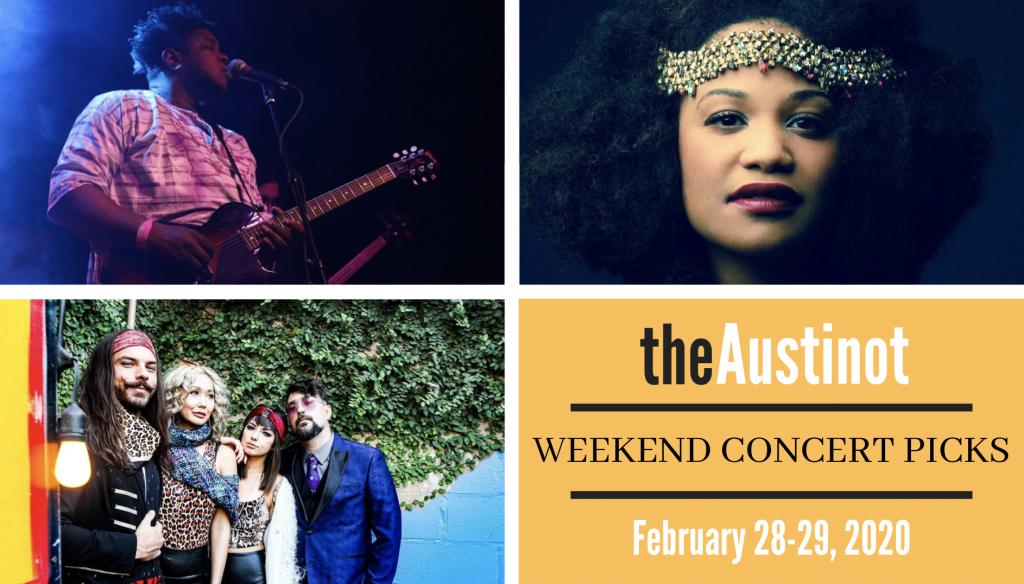 Austinot Weekend Concert Picks February 28