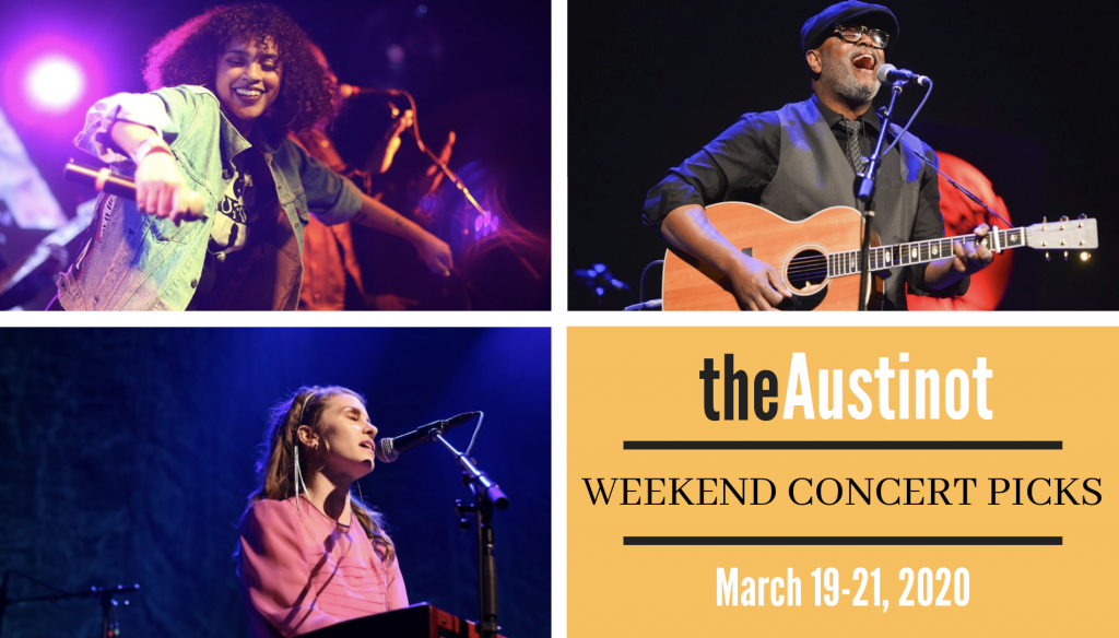 Austinot Weekend Concert Picks Virtual Edition