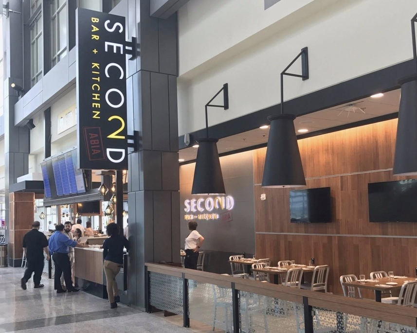 Second Bar + Kitchen at Austin Airport